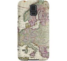 Vintage Map of Europe Samsung Galaxy Case/Skin