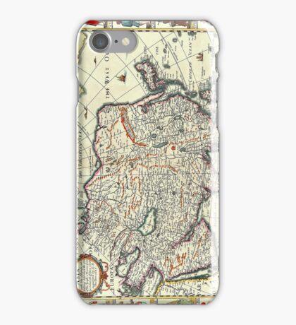 Vintage Map of Asia Circa 1626 iPhone Case/Skin