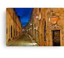 The Avenue of the Knights Canvas Print