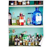 Old bottles Poster