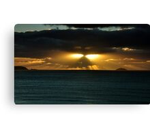 Cornish Sunset Canvas Print