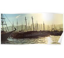 Sunset in Paraty Poster