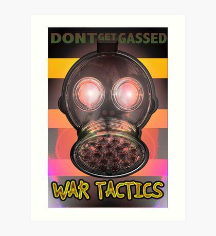 War Tactic Art Print