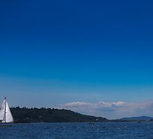 Golden Gardens Sailboat by MattyBoh424