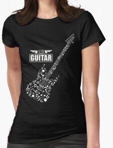 Air guitar Womens Fitted T-Shirt