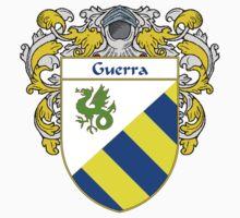 Guerra Coat of Arms/Family Crest by William Martin