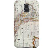 Vintage Antique Map of the Americas Circa 1626 Samsung Galaxy Case/Skin