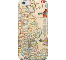 Vintage Antique Map of Japan iPhone Case/Skin