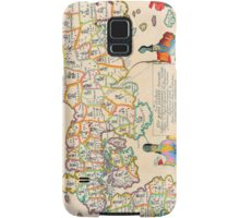 Vintage Antique Map of Japan Samsung Galaxy Case/Skin
