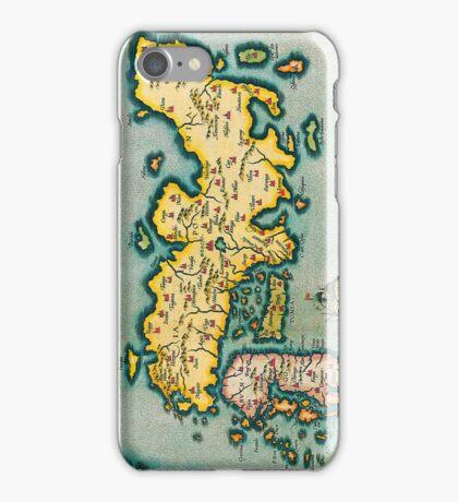 Vintage Antique Map of Japan Circa 1595 iPhone Case/Skin