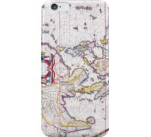 Vintage Antique Map of India Circa 1650 iPhone Case/Skin