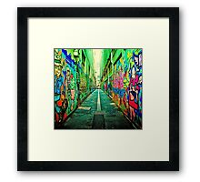 Graffiti color  Framed Print