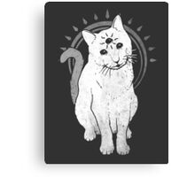 psychic Kitty 2  Canvas Print