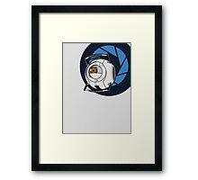 Portal 2 Space Core! Framed Print