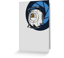 Portal 2 Space Core! Greeting Card