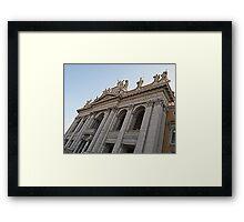 St. John Lateran Framed Print