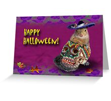 Happy Halloween Squirrel Greeting Card