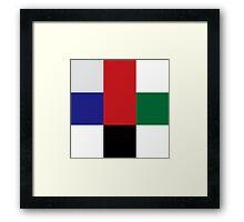 Color geeks  Framed Print