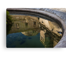 Reflecting on Noto and Its Beautiful Sicilian Baroque Architecture Canvas Print