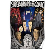 SuperWhoLock The Comic Official Poster Poster
