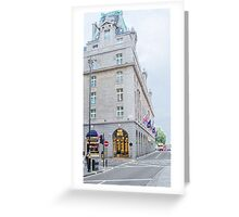 The Ritz Hotel Greeting Card