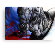 Garrus Vakarian - Second Thoughts Canvas Print