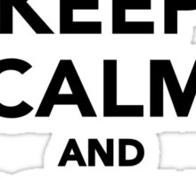 Keep calm and Poker on Sticker