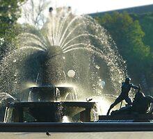 Fountain - tilt shifted by PhotosByG