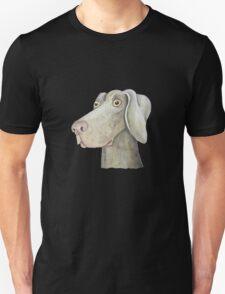 Quirky Weinmaraner in Watercolour Unisex T-Shirt