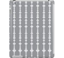 Gray and White Aztec Print Scarf iPad Case/Skin
