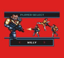 Double Dragon Arcade Final Boss Willy by syfyninja