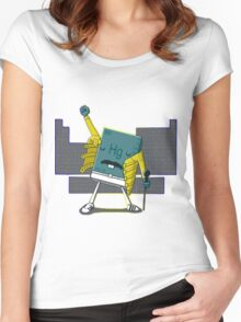 Freddy Mercury [Detailed Version] Women's Fitted Scoop T-Shirt