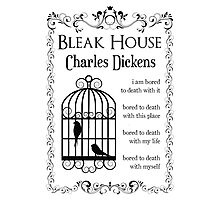 Bleak House by Charles Dickens Photographic Print