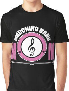 Marching Band Mum Graphic T-Shirt