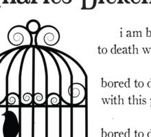 Bleak House by Charles Dickens Sticker