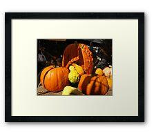 Happy Thanksgiving Canada 2013 Framed Print