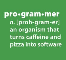 Programmer by definition by krop ★ $1.49 stickers