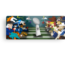 The NFL Metal Print