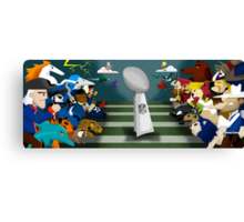 The NFL Canvas Print