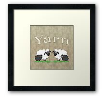 Yarn bags & home decor Framed Print