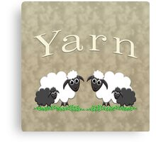 Yarn bags & home decor Canvas Print