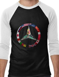 Lewis Hamilton Triple World Champion Men's Baseball ¾ T-Shirt