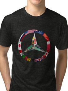 Lewis Hamilton Triple World Champion Tri-blend T-Shirt