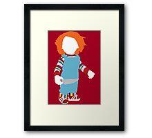 Chucky - Child's Play Framed Print