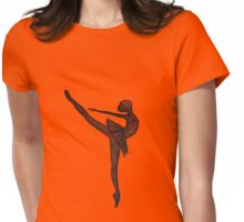 Dancer Womens Fitted T-Shirt