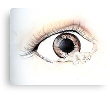 Eye Can Escape Canvas Print
