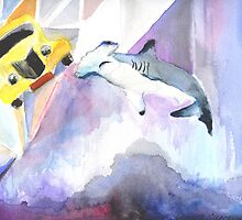 Quirky Shark Attack by daniyellow