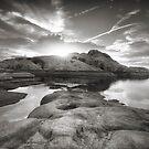 Rocklipse BW by Bob Larson