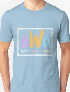 Brony World Order Unisex T-Shirt