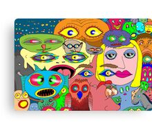 I think the eyes have it! Canvas Print